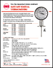 Sanitary Bimetal Thermometers