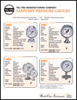 Food and Dairy Sanitary Pressure Gauges