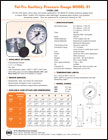 Chem Line Sanitary Pressure Gauges