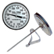 Laboratory Testing Thermometer LT325R, 3 inch dial with pan clip
