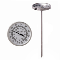 General Testing Thermometer GT100, 1-3/4 inch dial