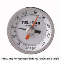 MX325R Back Connect Thermometer, 3 inch dial, Min OR Max Indicator