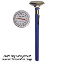 Pocket Test Thermometer AD44R, 1-3/8 inch dial and 5 inch stem
