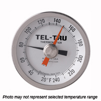 MX525R Back Connect Thermometer, 5 inch dial, Min OR Max Indicator
