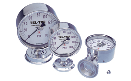 Food and Dairy Pressure Gauges